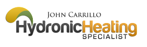 John Carrillo Hydronic Heating Specialist Logo