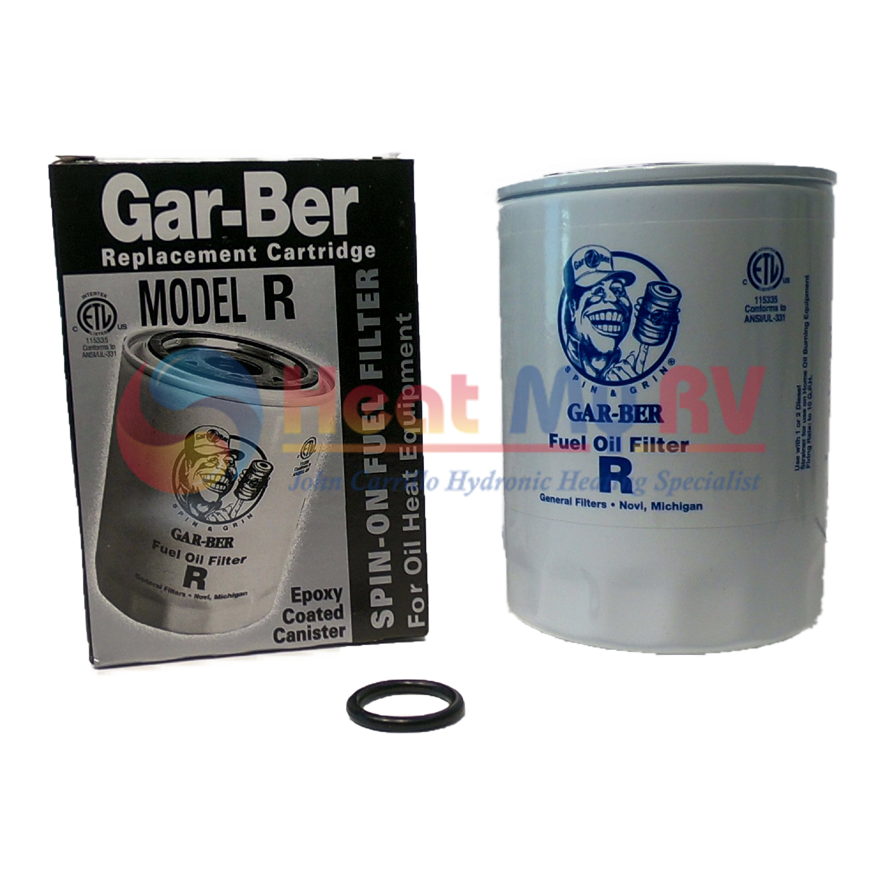 garber r fuel filter aqua hot rv hydronic heating fle 120 100 Moped Fuel Filter